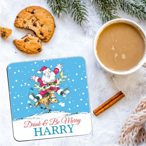Personalised Christmas Coaster N20  - ANY NAME
